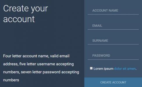 HTML5代码与CSS样式网页排版设计制作简单的form表单网站静态页面