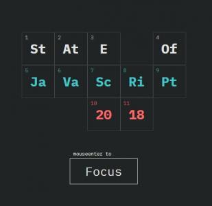 JavaScript特效素材代码和CSS绘制透明数字单元格鼠标点击按钮随机移动动画效果