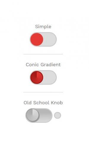 网页按钮素材设计代码CSS样式表美化CheckBox滑块开关按钮样式效果