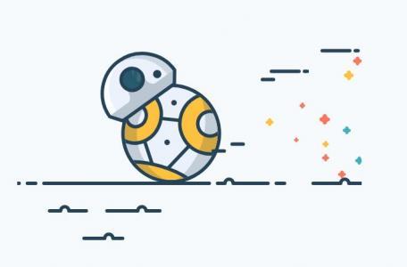 网页特效代码JavaScript与CSS动画设计与制作简笔画机器人奔跑场景动画效果
