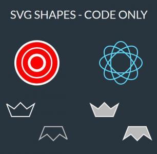 CSS3网页布局设计代码绘制简单SVG图标样式效果HTML网站图标素材网站