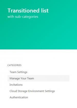 HTML网页布局样式代码和JavaScript设计网站静态页面鼠标点击列表菜单状态切换效果