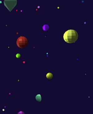 HTML5标签网页代码与canvas特效绘制大气3D星星动态背景图像样式效果