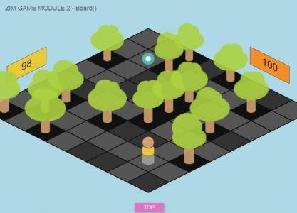 HTML5网站游戏设计代码与canvas画布绘制简单移动小游戏