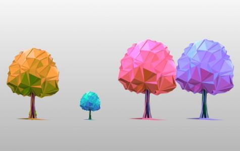 CSS3网站特效图像设计代码与JavaScript制作炫酷3D立体树图形图像样式效果