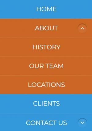 jQuery特效网站代码设计平面垂直菜单列表鼠标滑过展开收缩代码