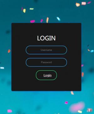 HTML标签网页设计代码和CSS排版布局制作大气用户登录表单UI样式效果