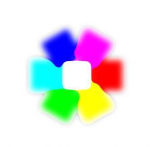 CSS3网页样式表与JS特效代码绘制色彩正方形图形鼠标滑过展开收缩展示动画效果