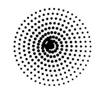 HTML网页标签和canvas画布绘制粒子圆圈随鼠标移动而移动动画效果