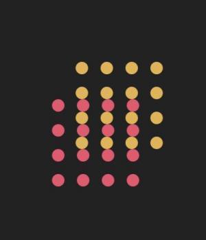 网站特效代码jQuery和CSS动画实现不同色彩粒子群相互交错移动切换动画效果