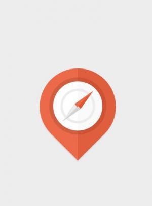 特效网页代码jQuery和CSS3属性样式表绘制指南针图标旋转动画效果