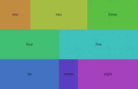 网页静态页面设计与制作代码CSS3样式表设计带动态效果的网格布局静态页面