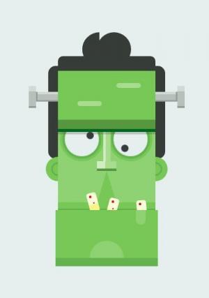 JavaScript网站特效代码和CSS动画属性制作创意卡通机器人头像样式效果
