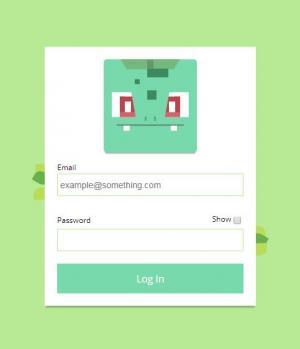 网站用户登录表单设计代码HTML和CSS制作大气网页用户登录表单样式效果