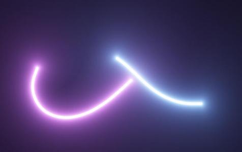 canvas网页特效和HTML5设计制作带发光效果的线性荧光棒动画代码