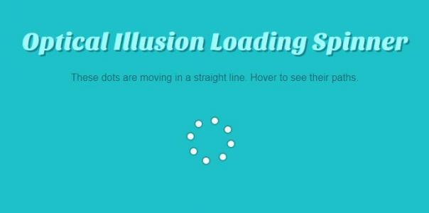 网站loading图标设计代码jQuery和CSS绘制粒子群圆圈loading图标动画旋转特效代码
