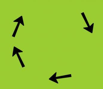 纯CSS3动画样式表属性和HTML绘制SVG箭头小图标旋转动画效果