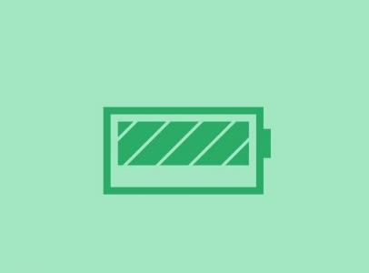 jQuery和CSS网页图标属性绘制电池小图标正在充电状态动画效果