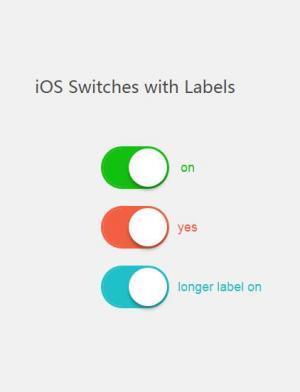 网页特效代码jQuery和CSS3设计制作大气CheckBox滑块开关按钮样式效果