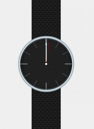 网页样式表CSS3和特效代码jQuery设计制作大气逼真手表时钟图像样式效果