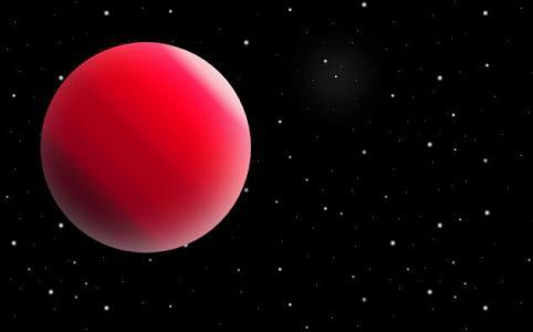 纯CSS3网页卡通图像属性设计带星空背景的行星图像样式效果