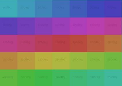 jQuery和HTML排版布局设计九宫格拾色器面板鼠标滑过色值信息滑动展示代码