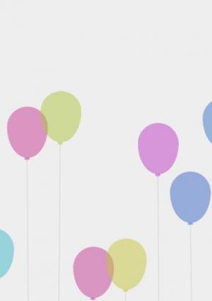 HTML5博客网站背景绘制代码CSS3与jQuery绘制气球网页背景图像动态滑动效果