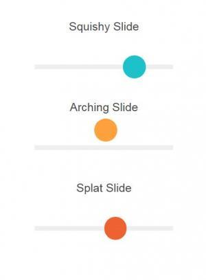 jQuery特效和CSS网页样式绘制3款不同动画效果的网站滑块样式效果