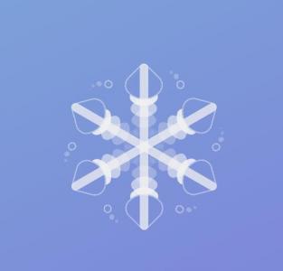 CSS3透明属性样式表和JavaScript绘制网页背景花纹图案样式效果
