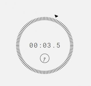 CSS3与JavaScript时钟代码绘制带刻度状态效果的简单圆形网页时钟