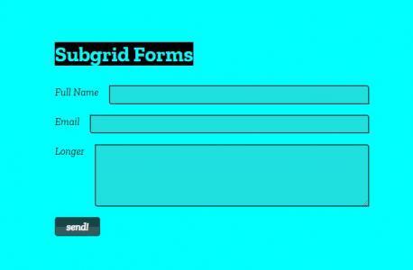 网站页面设计与制作HTML和CSS3排版制作简单大气form表单样式效果
