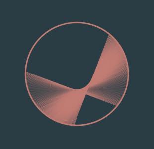 网页特效canvas画布代码与HTML标签制作带3D视觉动画效果的圆形图像