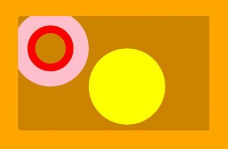 纯CSS样式表大全绘制带圆圈背景图像的圆角卡片样式效果网站素材设计代码