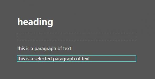 DIV网页布局样式代码HTML和CSS3设计制作文本边框鼠标滑过动态显示效果