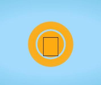 canvas网站特效代码绘制SVG绚丽图标鼠标点击播放按钮SVG圆形图标特效代码