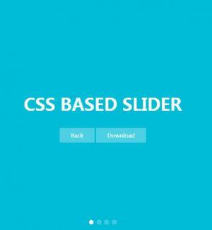 HTML和纯CSS网页样式设计制作全屏焦点图幻灯片网站幻灯片模板设计大全