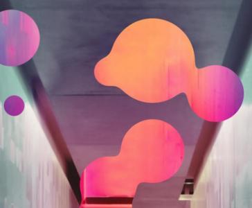 网站气泡背景设计效果JavaScript代码和HTML样式动画属性绘制大气气泡背景图像动画效果