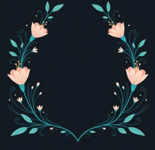 网页特效jQuery代码和CSS花儿属性样式绘制绚丽花纹背景图像动画绽放效果