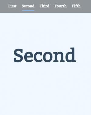 jQuery网页切换卡特效代码和HTML布局实现鼠标点击按钮页面内容滑动切换效果