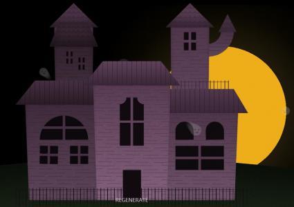 网站动画图像设计jQuery和CSS制作创意卡通夜间建筑样式效果网页图像设计代码