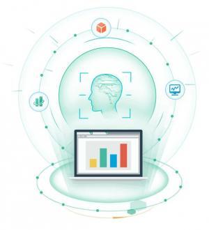 HTML网站动画制作代码jQuery特效设计超强大脑图形旋转动画效果