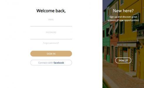 HTML代码与CSS设计制作可鼠标点击按钮用户注册登录框左右滑动切换效果