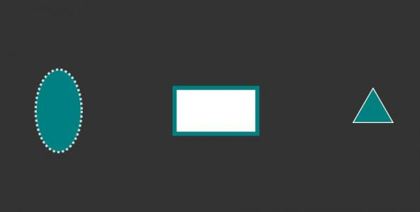 CSS3网页排版布局样式代码设计制作不同形状几何图形样式效果HTML网页几何图形绘制代码