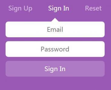 jQuery特效网站代码和HTML设计制作带切换卡功能效果的网站用户注册登录表单