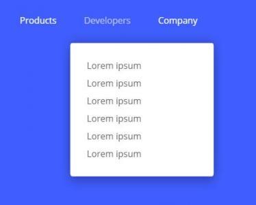 导航网站设计与制作大全HTML标签和JS特效实现鼠标滑过文本内容显示代码