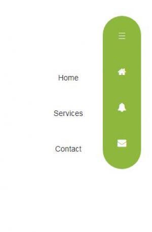 HTML5网页设计制作垂直导航菜单鼠标点击菜单滑动展开收缩代码