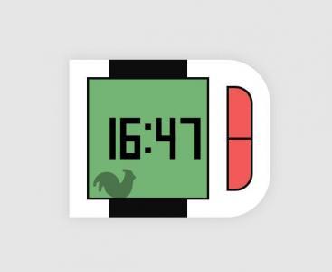 JS网站时钟制作代码和CSS属性设计创意可调试的网页时钟