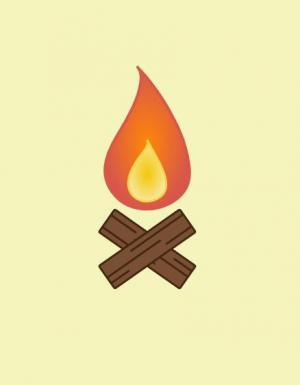 卡通素材设计制作网站纯CSS3绘制卡通火焰燃烧效果网页卡通素材制作大全