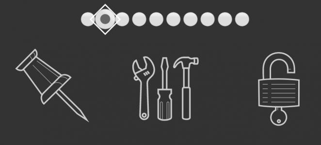 HTML标签代码与CSS绘制简笔画SVG图标样式效果网站图标素材设计与制作