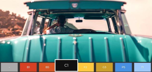 jQuery特效代码实现鼠标点击色彩块图像展示风格动态切换代码